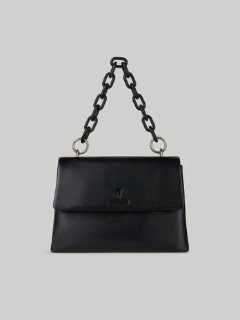 Tasche Claire Medium aus glattem Kunstleder
