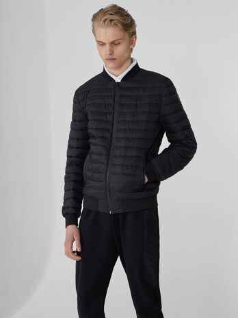 Bomber in nylon light effetto matt
