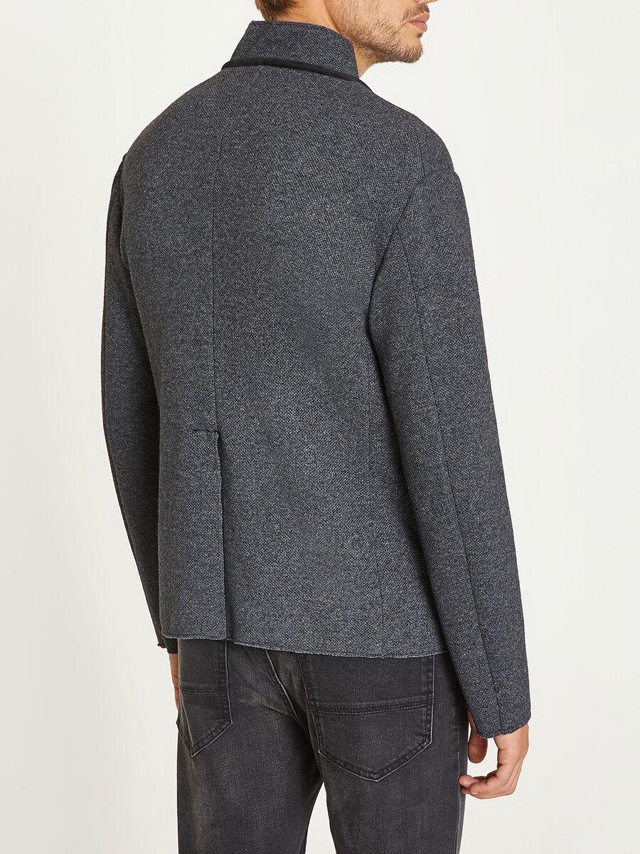 Giacca in misto lana