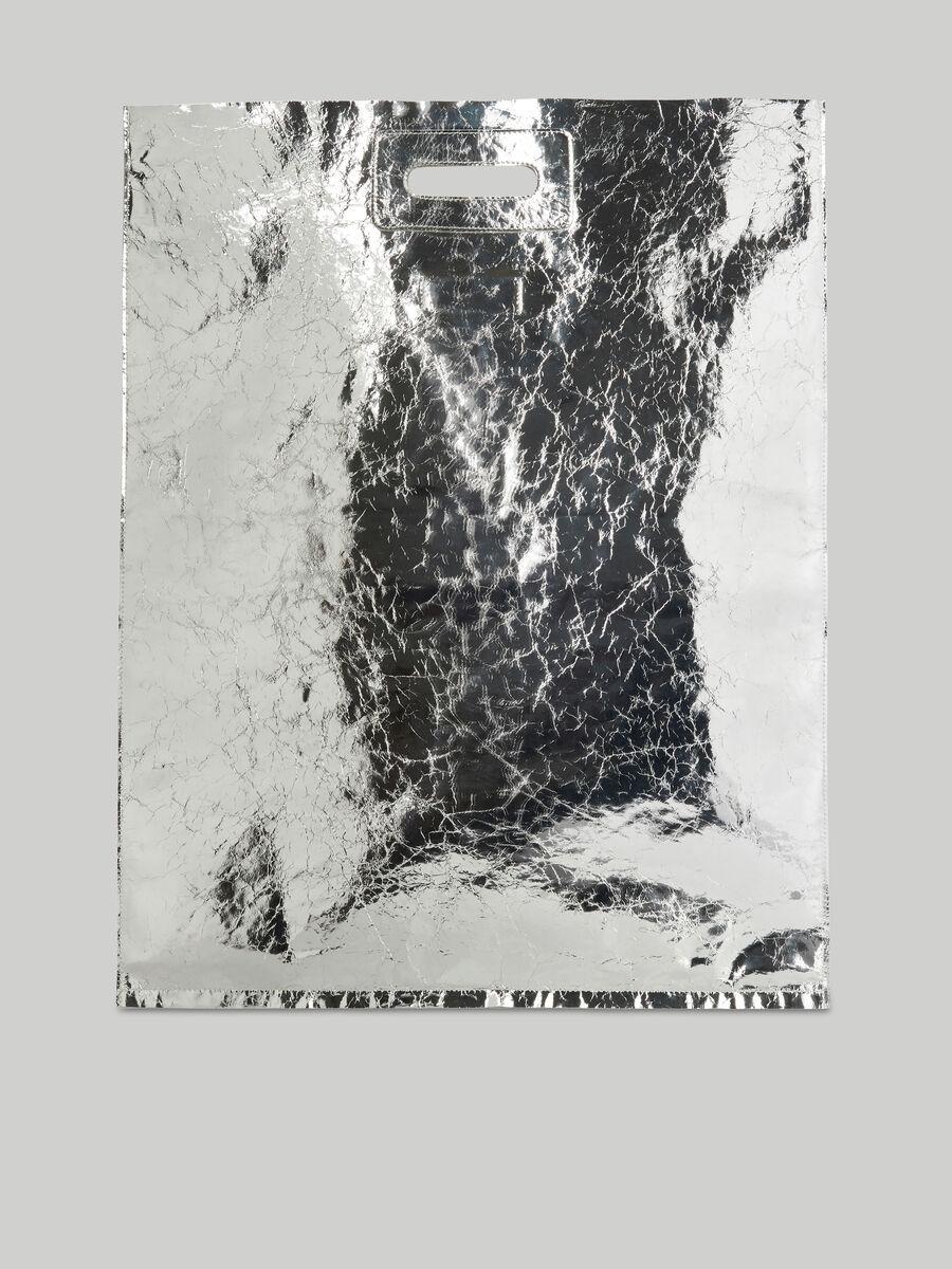 Cabas Trussardi Nuwev en cuir nappa craquele