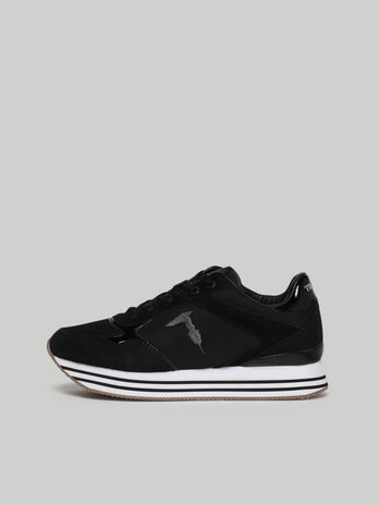 Celtik sneakers with suede inserts