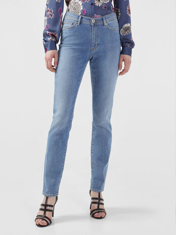 Jean 105 coupe skinny en denim alis stretch