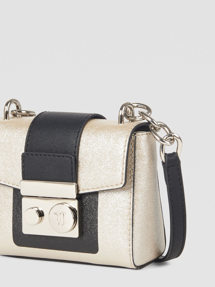 Small New With Love Cacciatora bag in faux leather