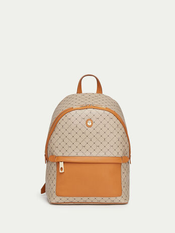 Mini Crespo leather Monogram backpack