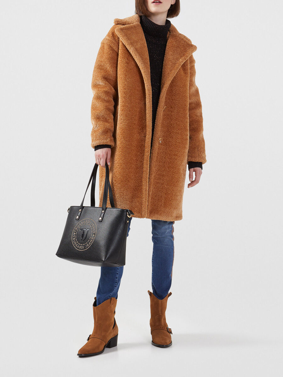 Bolso shopper Harper mediano de piel sintetica
