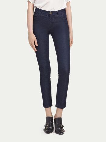 Jean stretch taille haute