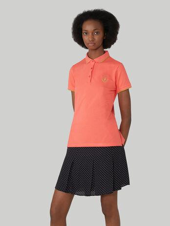 Poloshirt im Slim-Fit aus Stretchpikee