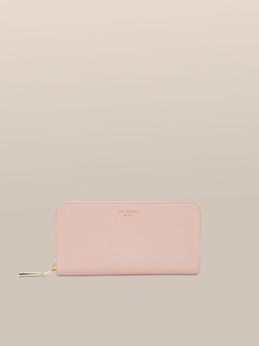 Bianca zip around purse in Elite leather