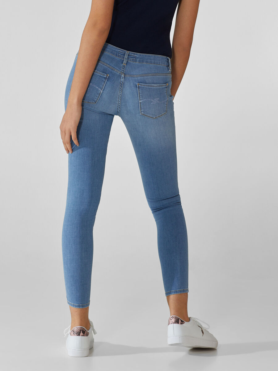 Super skinny 206 jeans in Cross Estela denim