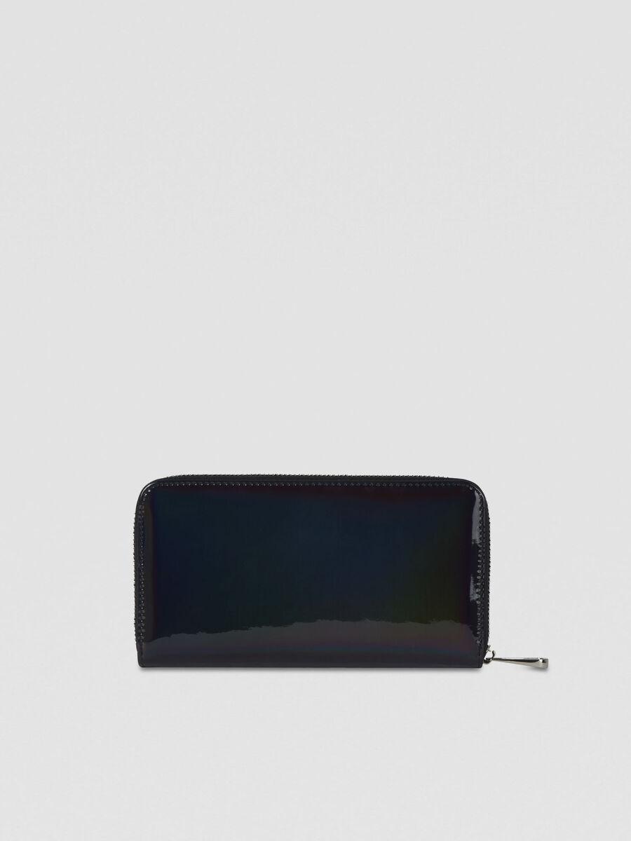 Geldboerse mit Reißverschluss Alba aus Kunstleder
