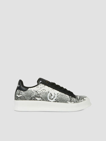 Python print faux leather Anemone sneakers