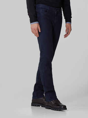 Herringbone cotton Icon 380 trousers