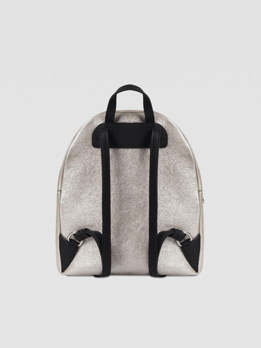 Medium New With Love backpack in faux leather