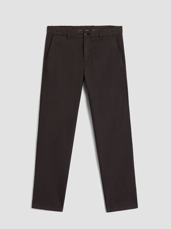 Gabardine 70s fit trousers