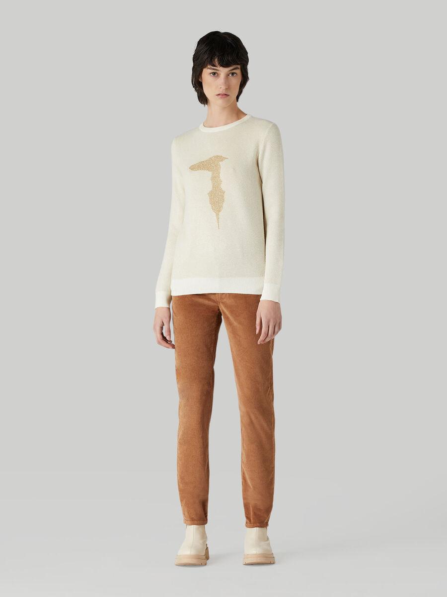 Skinny stretch corduroy 105 trousers