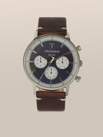 Montre T-Gentleman 43MM bracelet en cuir