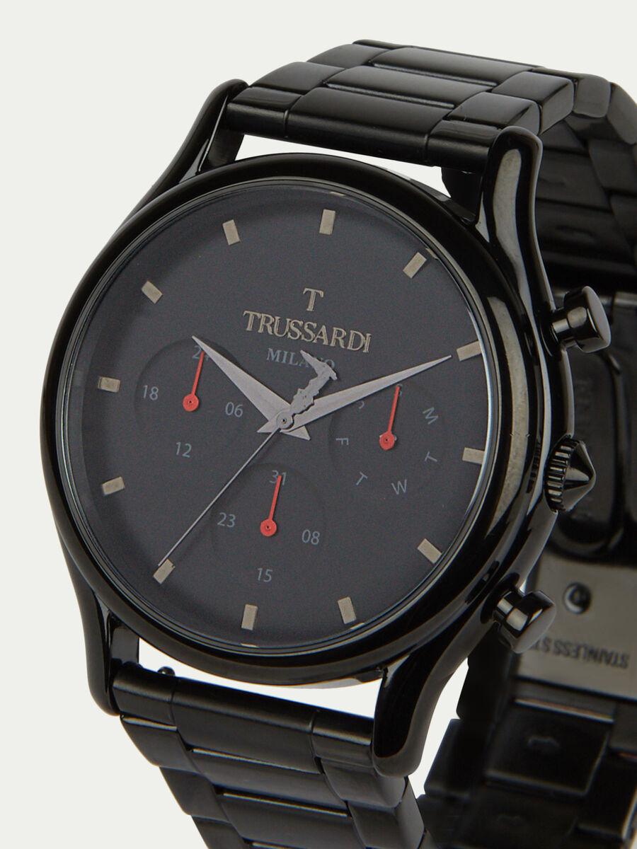 Chronograph T-Light mit Stahlarmband