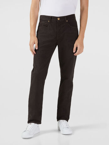 Icon 380 jeans in wool touch gabardine