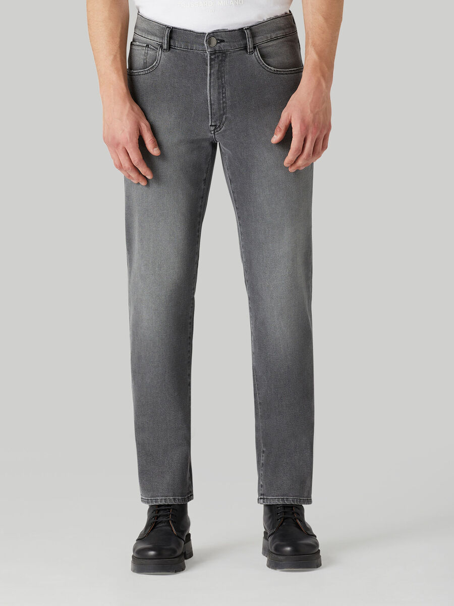 Icon 380 jeans in Fuel denim