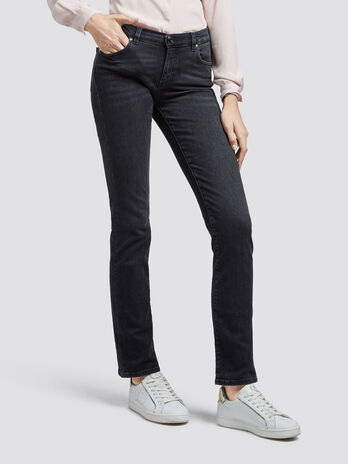 Jeans classic fit stone washed