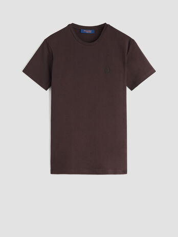 Slim fit stretch jersey T-shirt