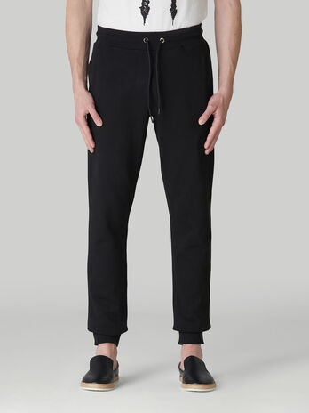 Cotton fleece jogging bottoms