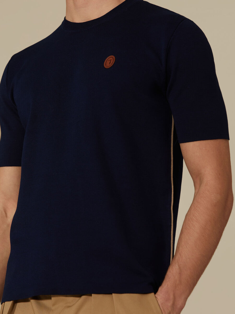 Regular-fit cotton T-shirt