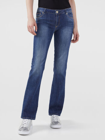 Jeans 206 flare in denim ivy blue