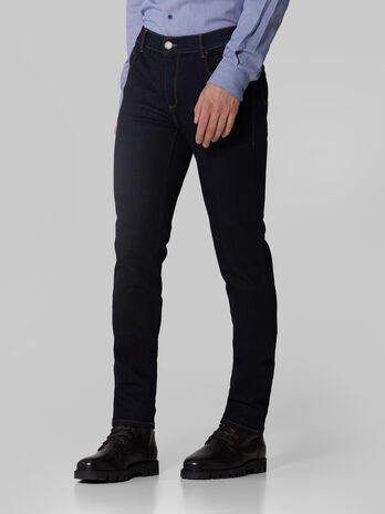 Cotton denim twill Close 370 trousers