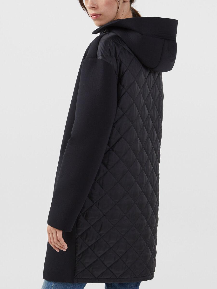 Mantel aus Neopren und Nylon