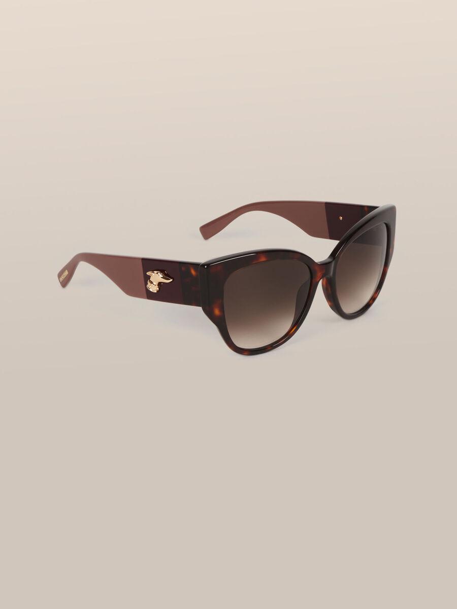 Sonnenbrille in Schildkroetenoptik mit Levriero