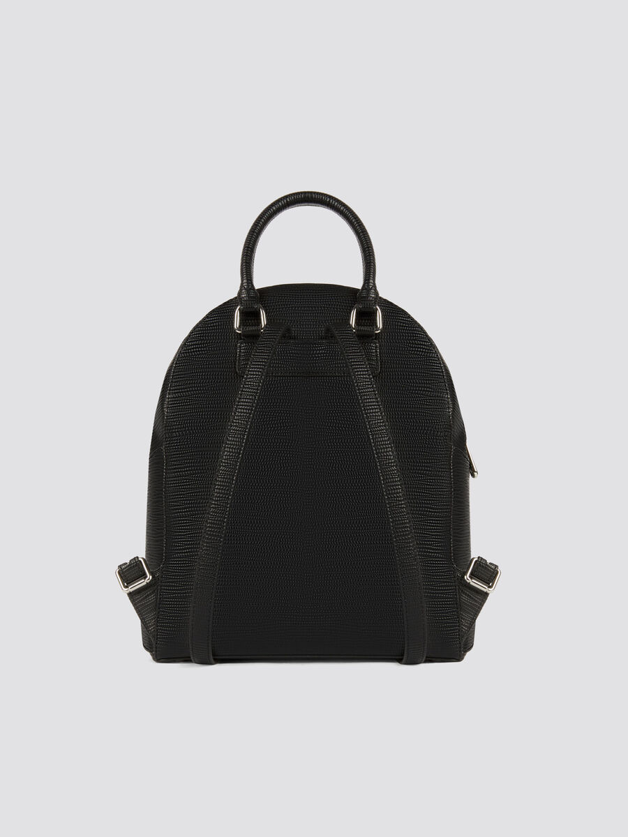 Medium Melly backpack in saffiano faux leather