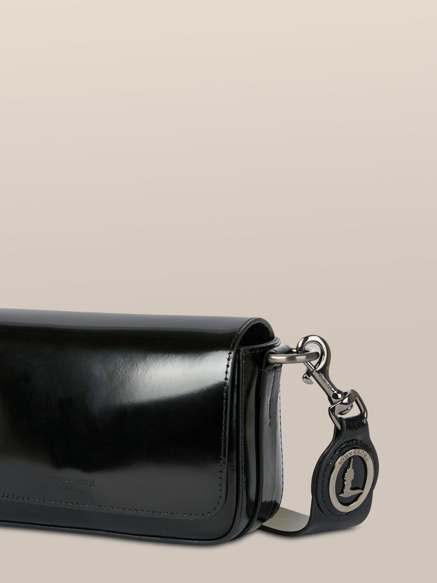 Small Bianca crossbody bag in abraded leather
