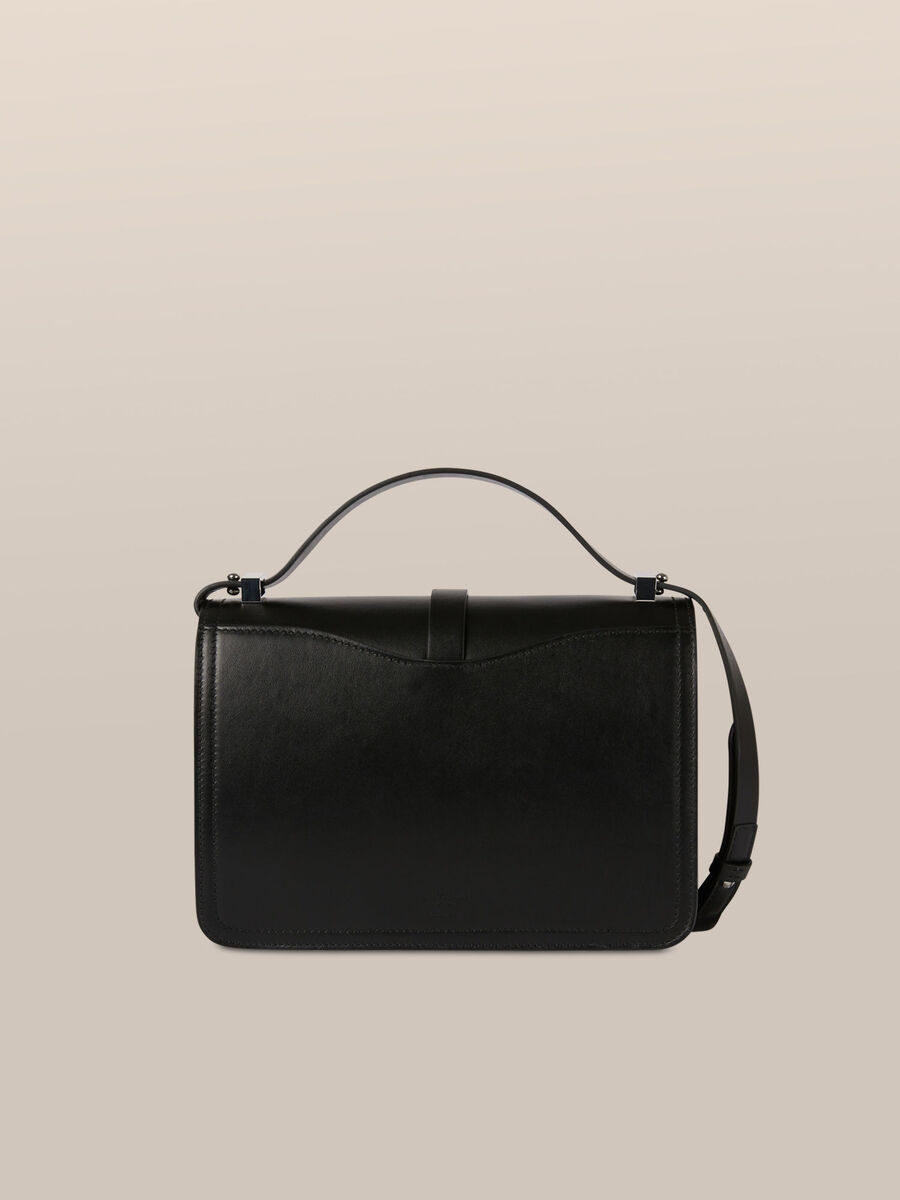 Medium Leila bag in calfskin nappa