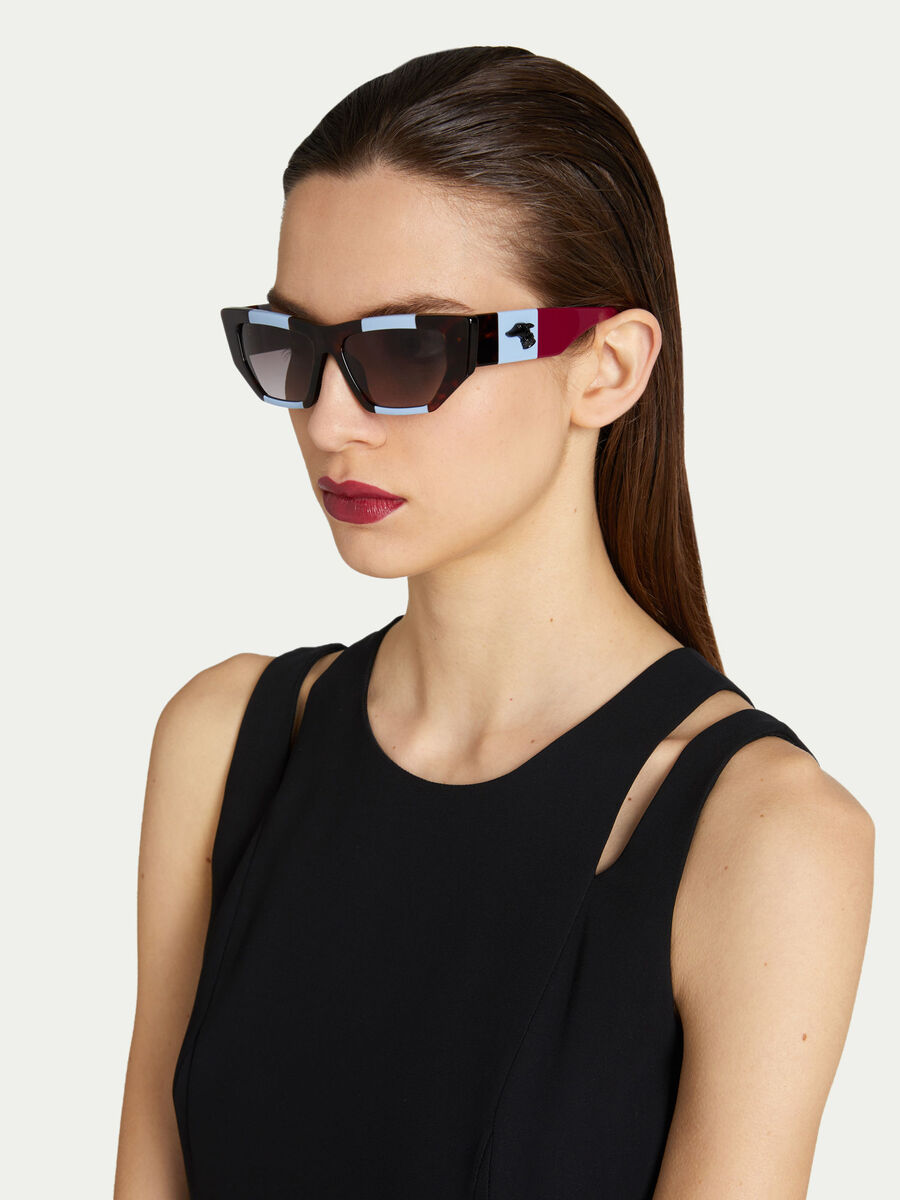 Multi coloured sunglasses