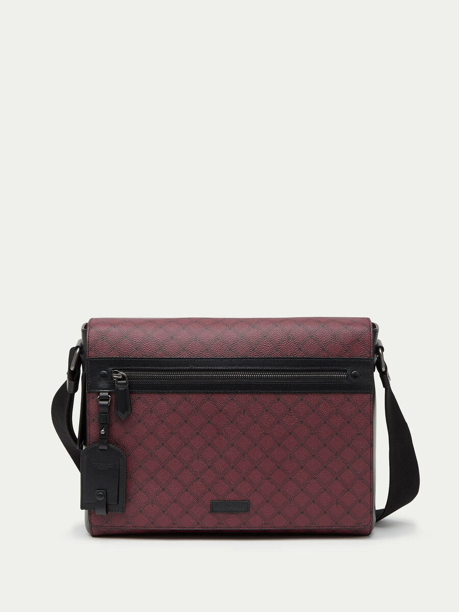 Crespo leather Messenger Monogram bag