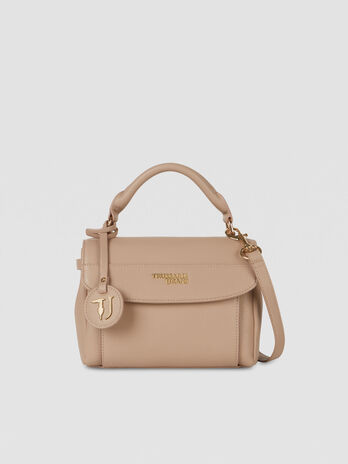Top handle T-Easy Light small in similpelle saffiano