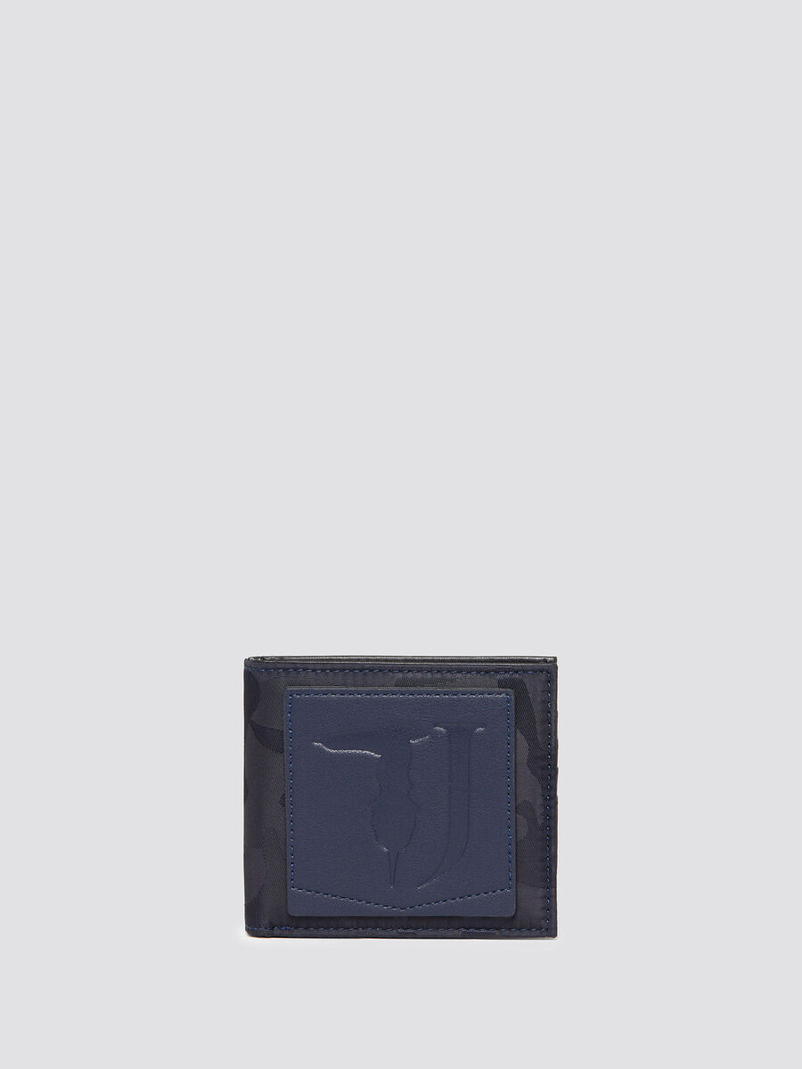 Ticinese camouflage wallet with coin pocket
