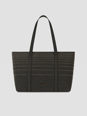 Medium Anita shopper in faux leather