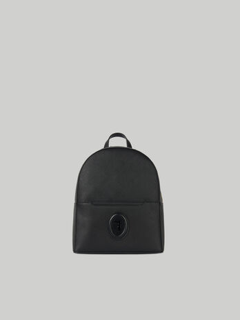 Small Dahlia backpack in faux saffiano leather