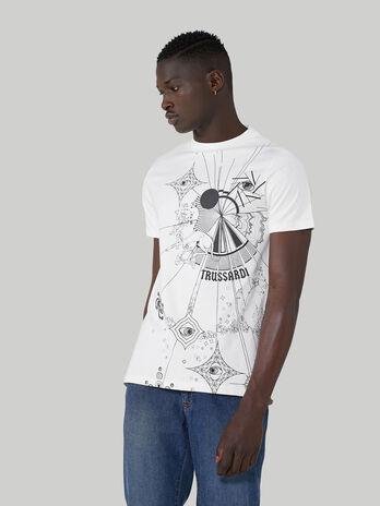 T-Shirt im Regular-Fit aus reiner Baumwolle