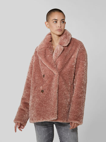 Teddy bear overcoat