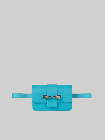 Leather and suede Milano belt bag