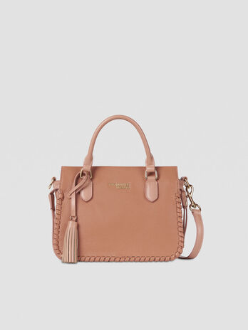 Top handle Amanda small in similpelle