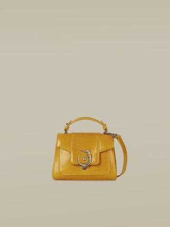 Mini leather Lovy handbag