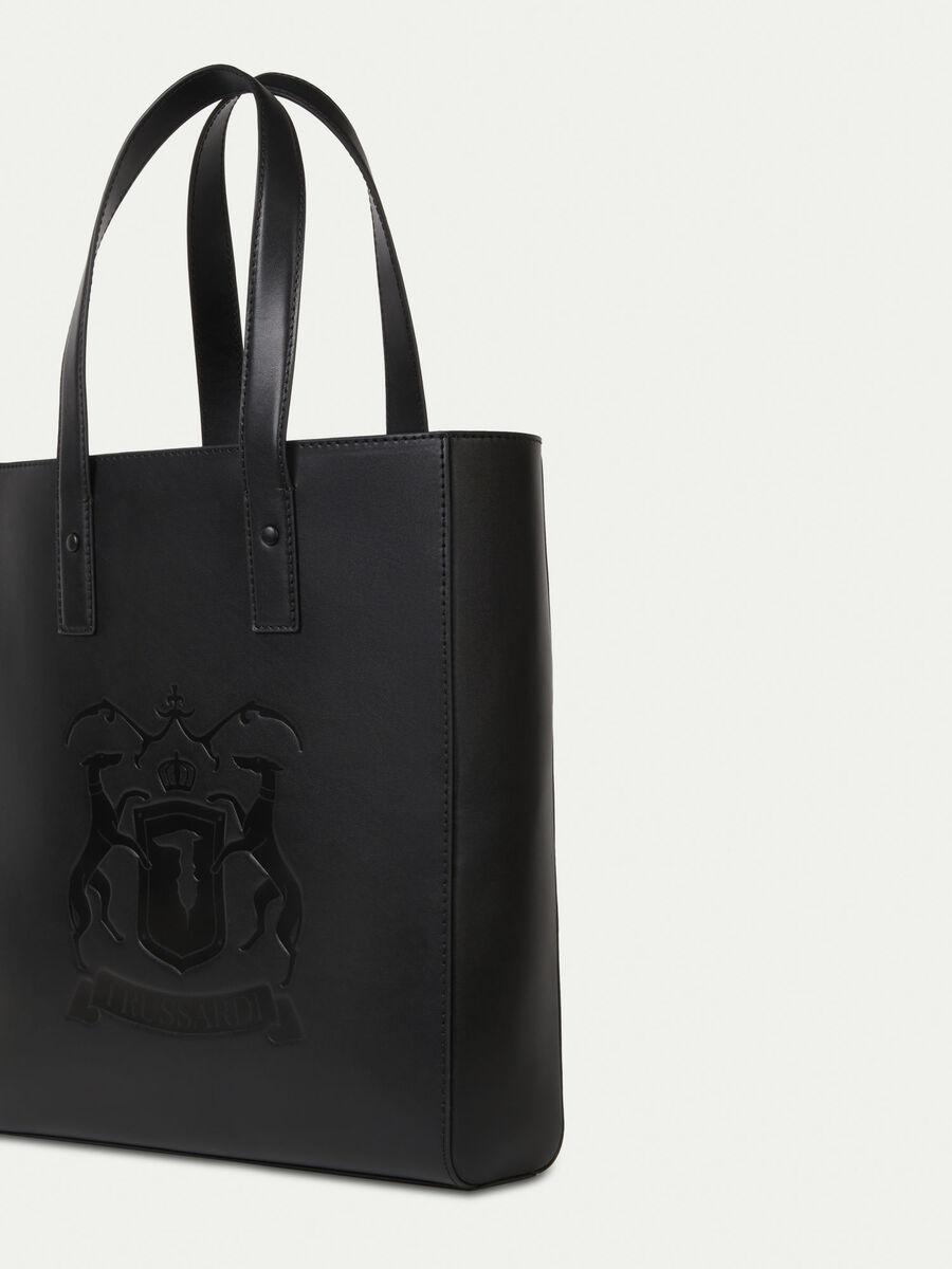 Unisex Shopper aus Leder