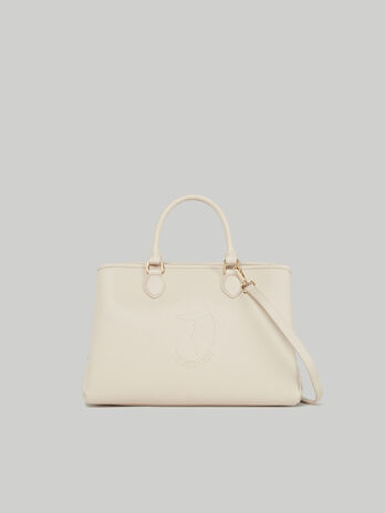 Medium Iris tote bag in faux leather
