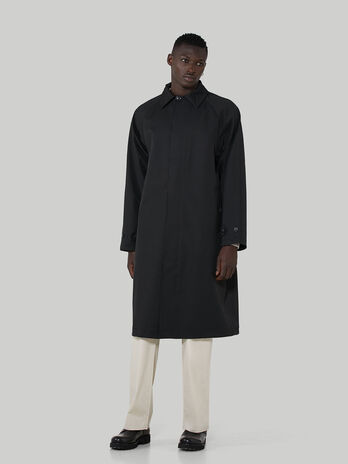 Coated fabric overcoat