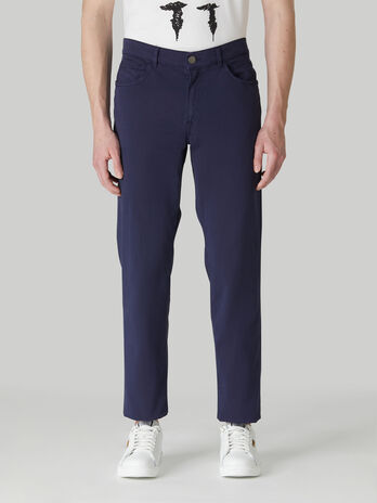 Icon 380 trousers in light cotton gabardine