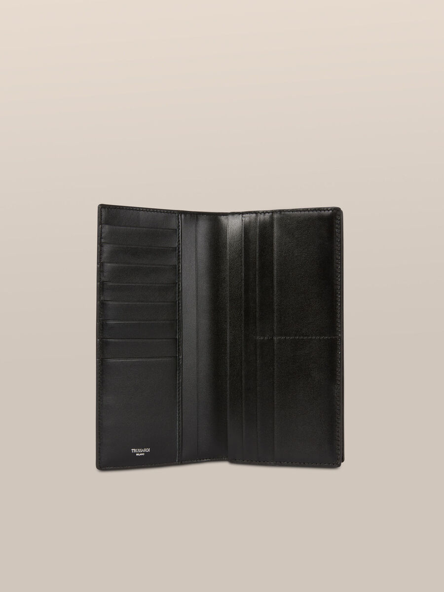 Business continental wallet in Crespo leather